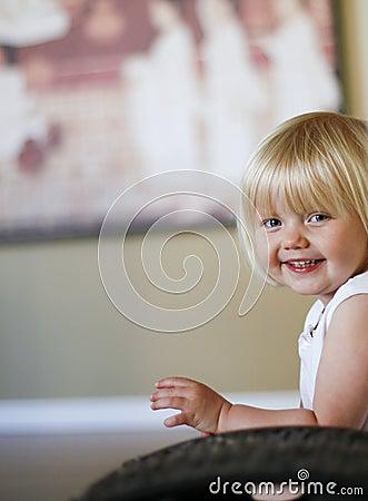 Cute Female Child