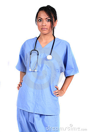 Cute Female Nurse, Doctor, Medical Worker