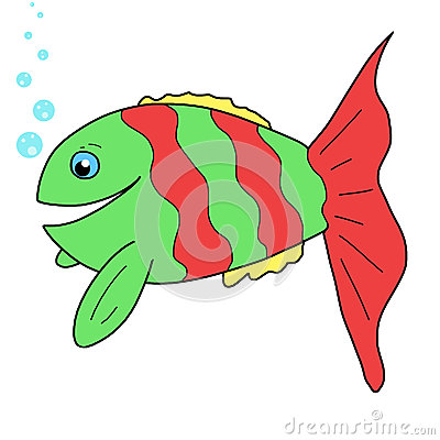 Cute fish Cartoon