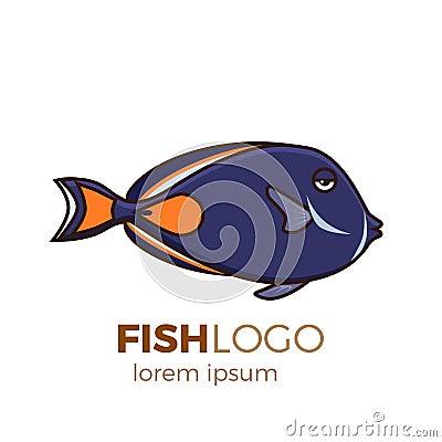 Free Cute Fish Vector Illustration Icons Set. Tropical Fish, Sea Fish, Aquarium Fish Stock Photos - 106634603