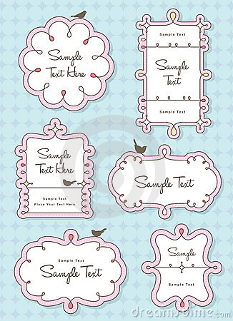 Free Cute Frames Royalty Free Stock Images - 17585329