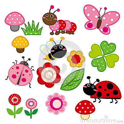 Free Cute Garden Insect Stock Photo - 27120980