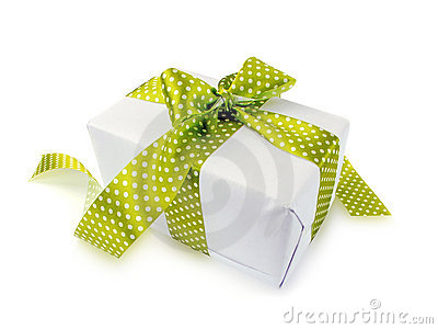 Cute gift isolated