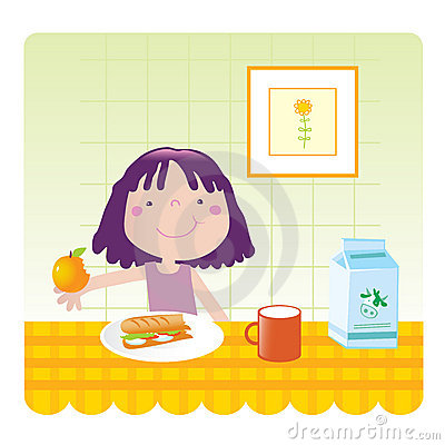Cute girl- kitchen