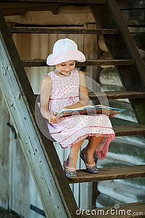 Cute girl in panama