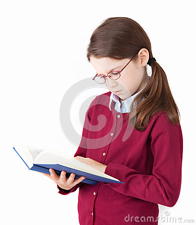 Cute Girl reading