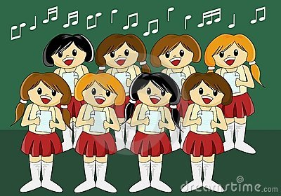 Cute Girls  Choir