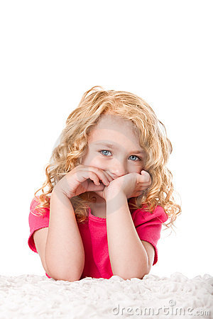 Free Cute Goldilocks Girl Royalty Free Stock Photography - 19799747
