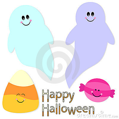 Cute Halloween graphics collection