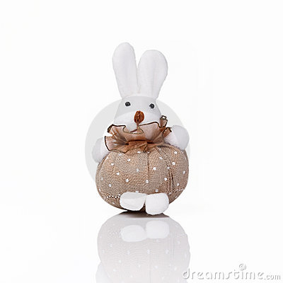 Cute hand made rabbit