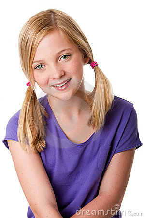 Free Cute Happy Teenager Girl Stock Image - 20061241