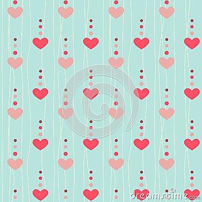 Free Cute Heart Pattern Stock Image - 53359361