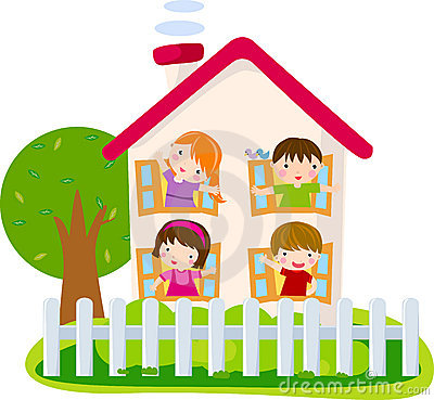 Free Cute House Stock Image - 13935741