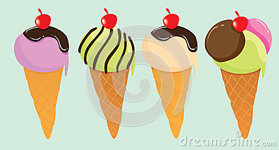 Cute Ice Creams