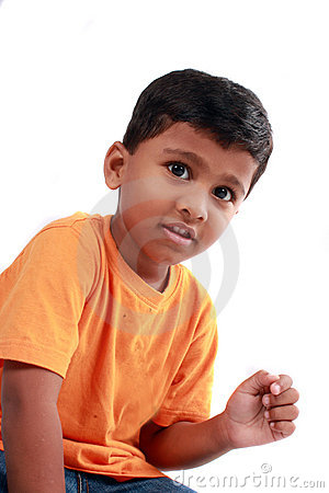 Cute Indian Kid
