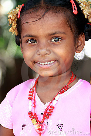 Cute Indian Village Girl