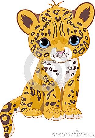 Free Cute Jaguar Cub Stock Photography - 14956942
