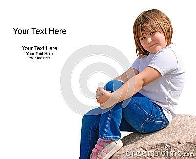 Cute Kindergarten Girl