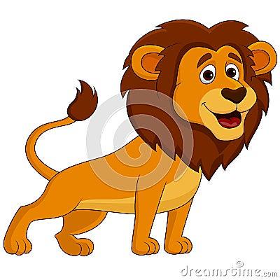 Free Cute Lion Cartoon Stock Photography - 33231942
