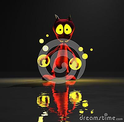 Cute little alien