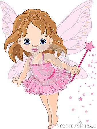 Free Cute Little Baby Fairy Stock Photos - 17789773