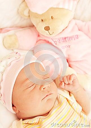 Free Cute Little Baby Sleeping Royalty Free Stock Photos - 17730948