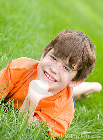 Free Cute Little Boy Royalty Free Stock Photos - 5021088