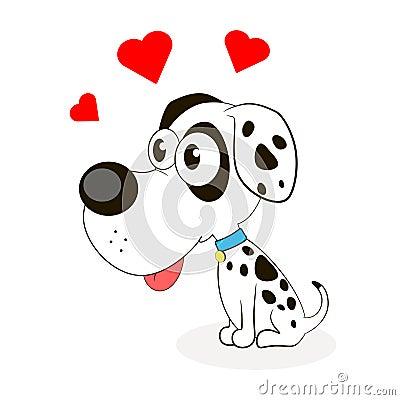 Cute Little Dog Stock Vector