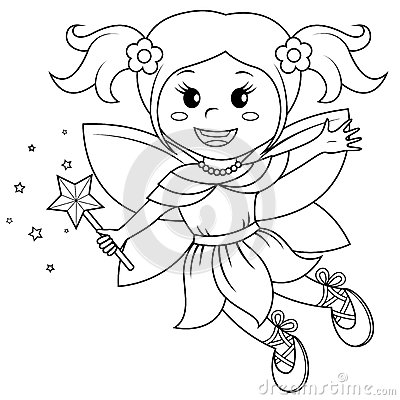 Free Cute Little Fairy Royalty Free Stock Image - 94141636