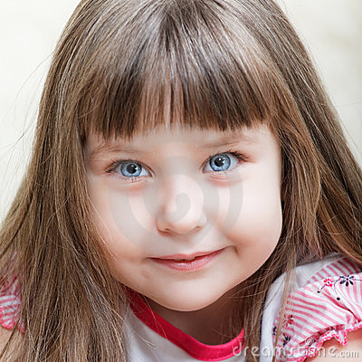 Free Cute Little Girl Royalty Free Stock Image - 19518236