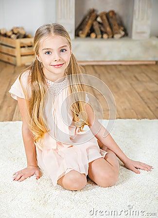 Free Cute Little Girl Stock Photos - 90047043