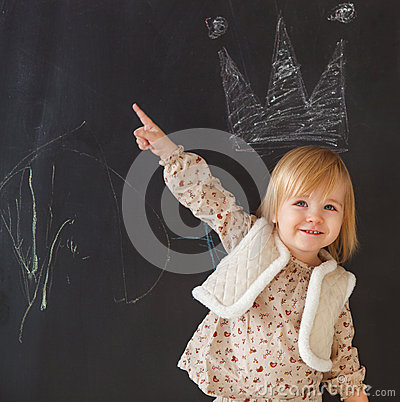 Free Cute Little Girl Having Fun Stock Photo - 31631340
