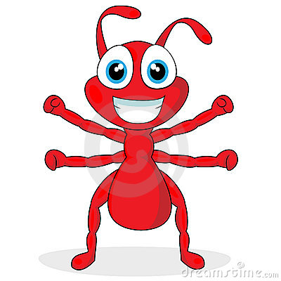 Free Cute Little Red Ant Royalty Free Stock Photography - 17179317