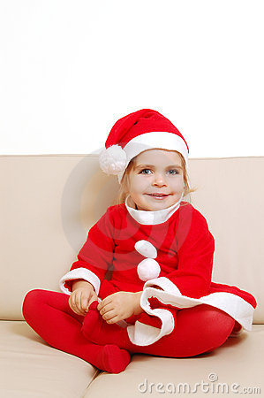 Cute little santa