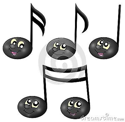 Cute music notes
