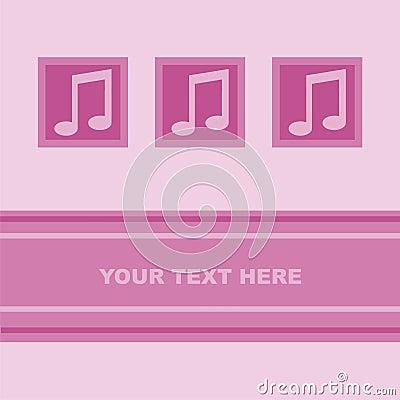 Cute musical card