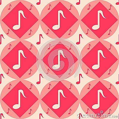 Cute musical pattern