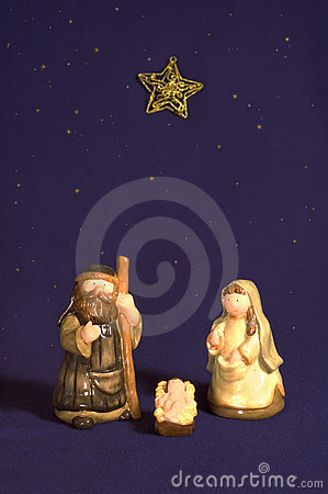 Cute Nativity Scene