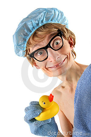 Free Cute Nerd Spa Royalty Free Stock Photo - 7595935