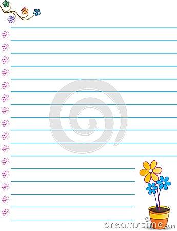 Cute note paper