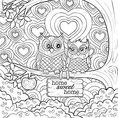Get free high quality hd wallpapers coloring page cute owl