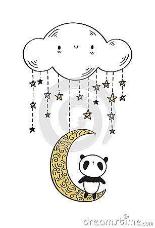 Free Cute Panda. Stock Photography - 99116502