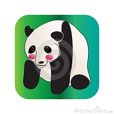 Cute panda(red cheek)taishan