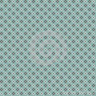 Free Cute Pixelated Pattern With Simple Geometric Shapes Stock Image - 87722241