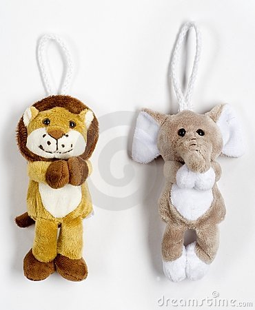 Cute plush animals