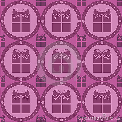 Cute presents pattern