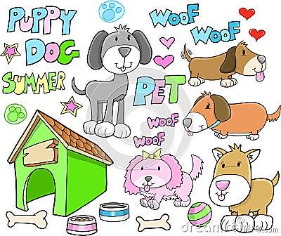 Cute Puppy Dog Animal Summer Pet