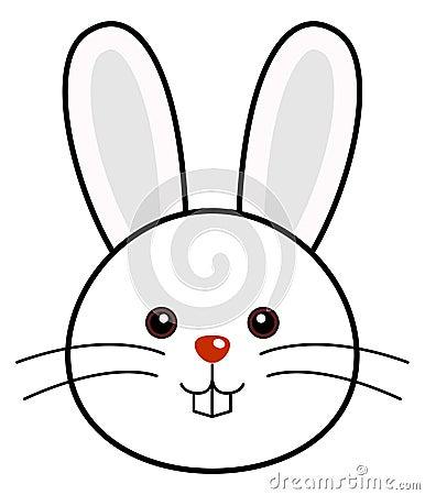 Cute Rabbit Vector Royalty Free Stock Photos - Image: 14691348