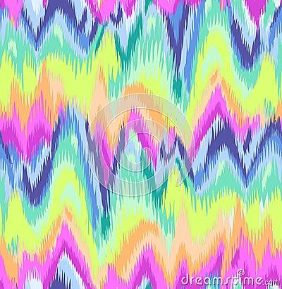 Free Cute Rainbow Ikat Chevron Print Stock Photography - 37949232
