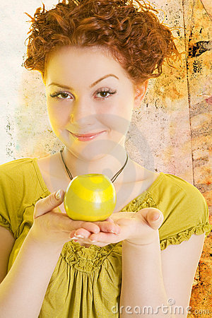 Free Cute Red Haired Stock Photos - 15416143